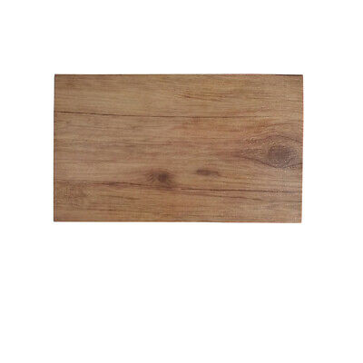 3x Melamine Wood-Look Board 325x175mm Ryner Display Catering Timber Style Tray