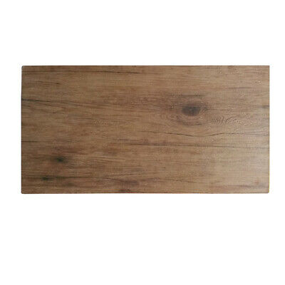 6x Melamine Wood-Look Board 500x250mm Ryner Display Catering Timber Style Tray