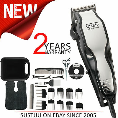 Wahl Professional CHROMEPRO Coarded Hair Clipper│Precision Blade│0.8-25mm Length