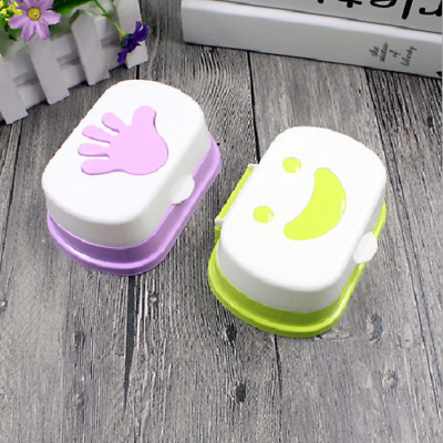 Bathroom Shower Container Soap Box Travel Box Portable Soap Dishes Case Holder