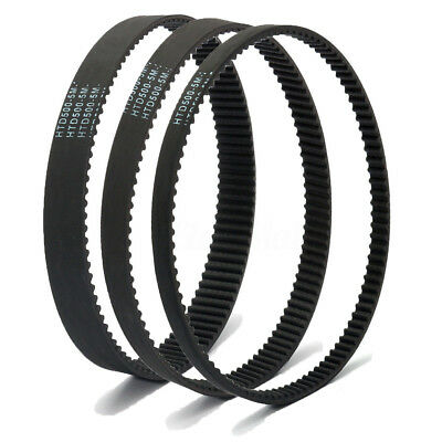 HTD 5M Timing Belt Arc Teeth 5mm Pitch 10~50mm Width Rubber Drive Belt 370~500mm