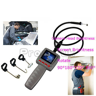 2.4 Digital Video Inspection Borescope Endoscope Pipe 10mm Camera Snake Scop NEW