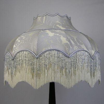 Victorian Vintage Standard Beaded Lampshade **REDUCED FROM £271.00 TO £244.00**