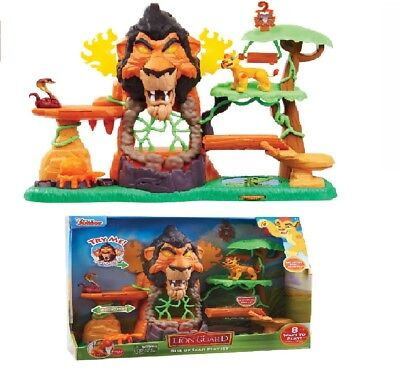 Disney Junior's The Rise of Scar Lion Guard Play Set