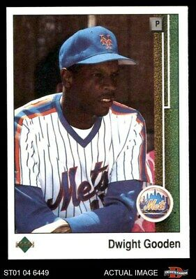 1989 Upper Deck #565 Dwight Gooden Mets NM/MT