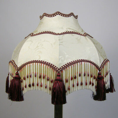 Victorian Vintage Beaded Lampshade **REDUCED FROM £193.00 TO £174.00**