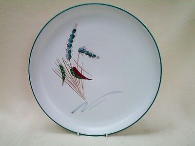 """Denby Greenwheat Dinner Plate 10"""" dia Very Good Used Condition (Ref P)"""