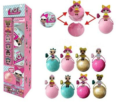 4PCS LOL Lil Outrageous 7 Layers Surprise Ball Series 2 Doll Bli