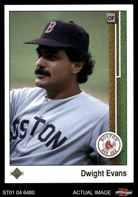 1989 Upper Deck #366 Dwight Evans Red Sox NM/MT