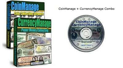USA Coin + Paper Money Collecting Software.  CoinManage USA + CurrencyManage USA