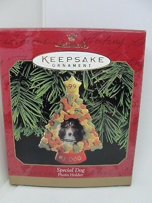 1999, Special Dog, Photo Holder,   Hallmark Keepsake Ornament