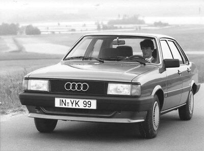 1985 Audi 80 CC ORIGINAL Factory Photo oub9198