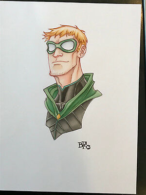 Green Lantern - Original Comic Art by Billy Fowler
