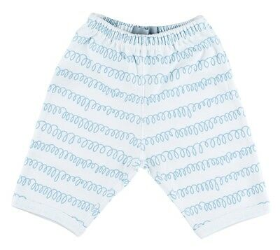 BOB AND BLOSSOM White Pebble Grey Squiggle Baby Trousers Boys Joggers 6-12m BNWT
