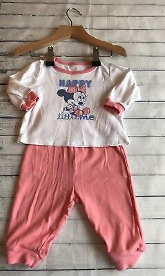 Baby Girls Clothes 3-6 Months - Cute Disney Minnie Pyjamas -
