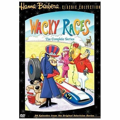 Wacky Races - The Complete Series (DVD, 2004) VG ORIG. RELEASE  NOT BOOT.OR FORE