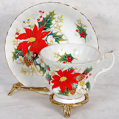 "Royal Albert ""Yuletide"" Cup & Saucer"