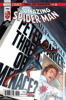 Amazing Spider-man (2015) #789 VF/NM-NM Alex Ross Lenticular & Regular Cover Set