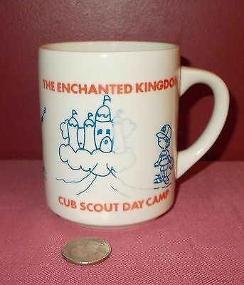 Vintage CUB SCOUT DAY CAMP MUG The Enchanted Kingdom Heart of America Council