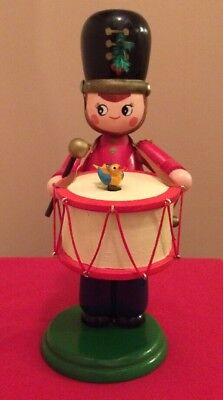 Vintage Rare Enesco 1981 Parade Of The Wooden Soldier Music Movement Box Figure
