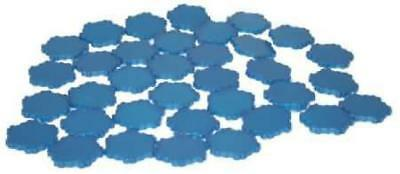2x Sparkly Water Tile (1 Hex) Heroscape New Heroscape