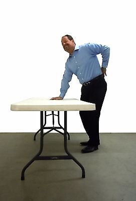 Lift Your Table® FOLDING TABLE RISERS extenders - transforms to counter height!