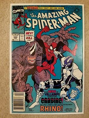 Amazing Spider-Man No. 344 (NM) First Appearance Of Cletus Cassidy ( Carnage)