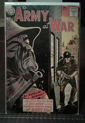 Our Army At War - #91 - DC Comics (Feb, 1960) - 1st Full Sgt. Rock - VG 4.5