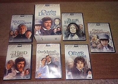 The Charles Dickens Collection 6 DVD Box Set BBC Oliver Twist Great Expectations