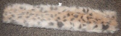 Size One Size Fits Most--Justice Brand Cheetah Print Fuzzy Scarf--Excellent