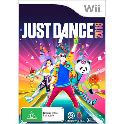 Just Dance 2018 - Nintendo Wii - BRAND NEW