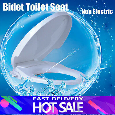 TAPCET Type-V Non Electric Bidet Toilet Seats +Cover Bathroom Washlet Spray FAST