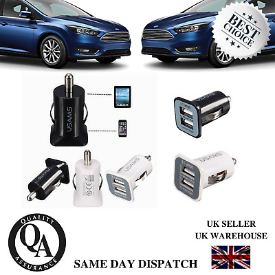 Car Socket Charger USB Dual Port [2 in 1]