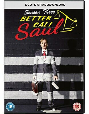 Better Call Saul: Season 3 (with UltraViolet Copy) [DVD]