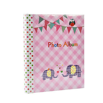 Baby Pink Gift Photo Album Large Self Adhesive 20 sheets  40 Sides