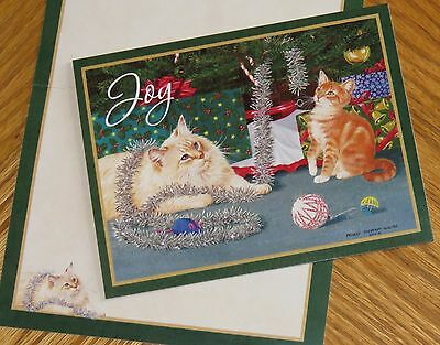 Persis Clayton Weirs Art - Decorators - Cats - 2012 Lang Christmas Cards 6ct