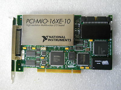 National Instruments Multifunction PCI-MIO-16XE-10 (PCI-6030E) NI DAQ Card,