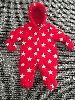 *Next Bnwot Boy baby Baby Girl Unisex Snowsuit Pram suit Coat Newborn First
