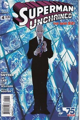 SUPERMAN UNCHAINED 4     ...NM-  ...2013         Bargain!