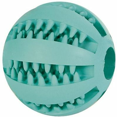 Trixie Denta Mint Fresh Flavour Oral Hygiene Natural Rubber Chewing Ball 3259