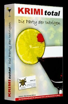KRIMI total - Fall 07: Die Party der Intrigen - Krimi Dinner