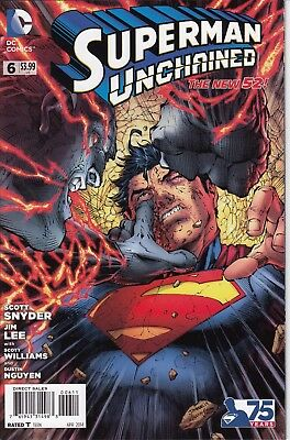 SUPERMAN UNCHAINED  6      ...NM-  ...2014 ...    Bargain!