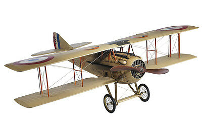 """WWI French Spad XIII Model 24"""" Vieux Charles Biplane Wooden Plane New"""