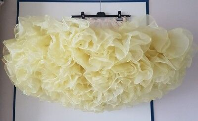 Square Dance ** Petticoat  100 Yard ** The Rose CHRYSTAL Zitronen Gelb