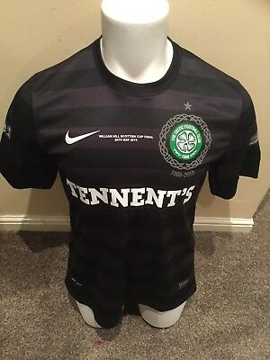 Glasgow Celtic Match Worn / Issued Forrest Shirt 2013 William Hill Cup Final