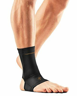 Tommie Copper Men's Recovery Thrive Ankle Sleeve Brace, Black, Small - NEW!