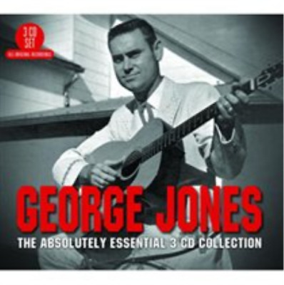 George Jones-The Absolutely Essential 3CD Collection  CD / Box Set NEW