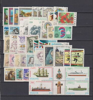 s17524) ITALIA  MNH** 1979 Complete year set 42v (NO DEFINITIVES STAMPS)