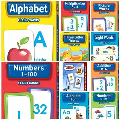 Hinkler School Zone Early Learning Flash Cards - 10 Variety Packs to Choose From