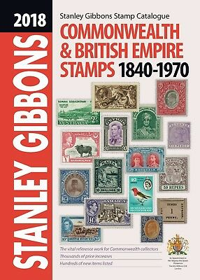 2018 Stanley Gibbons Commonwealth & British Empire Stamps Catalogue SAVE £16.50